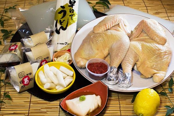 タッカンマリと独楽豆腐セット