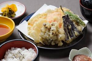 天ぷら定食C