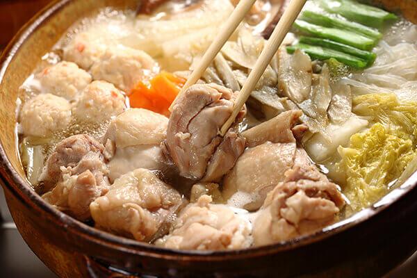 独楽の地鶏鍋